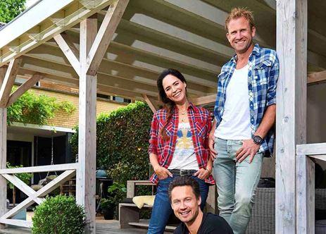 Eigen huis tuin 39 gewoon 39 weer met drie presentatoren for Eigen huis en tuin logo