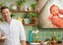 Jamie Oliver's nieuwe zoontje heet River Rocket