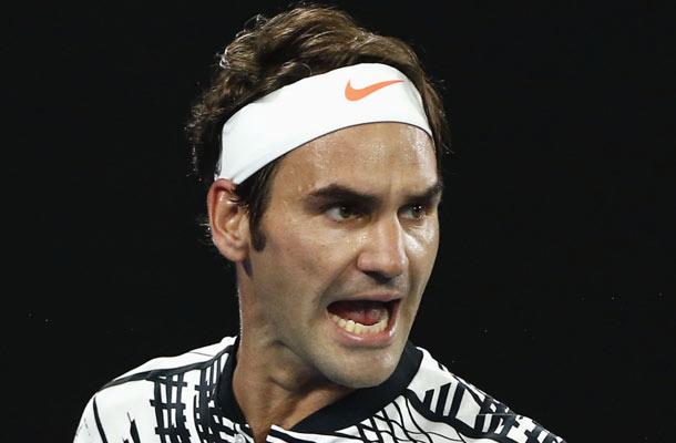 Roger Federer wint Australian Open