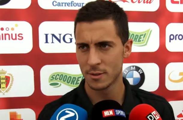 Hazard: 'Zlatan Ibrahimovic is een voorbeeld voor iedereen'