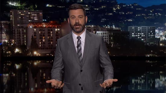 How Jimmy Kimmel Deals with the Heat