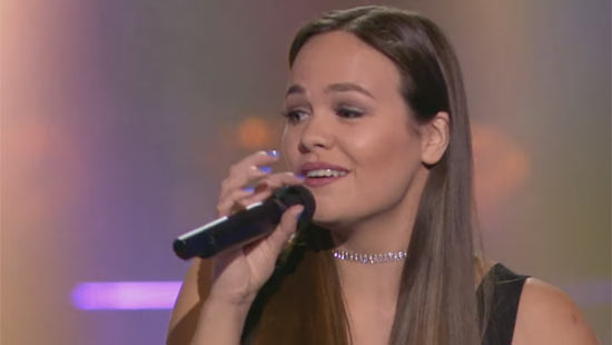 Natascha Vergeer – Be The One (The Blind Auditions 2016)
