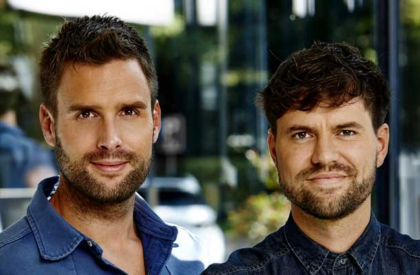 Nick en Simon weer naar de USA   TVGids nl