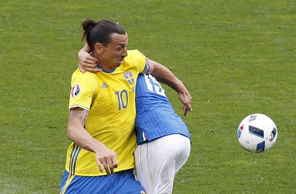 Ibrahimovic stopt na EK als international