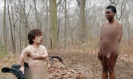 Peter Dinklage naakt in Saturday Night Live
