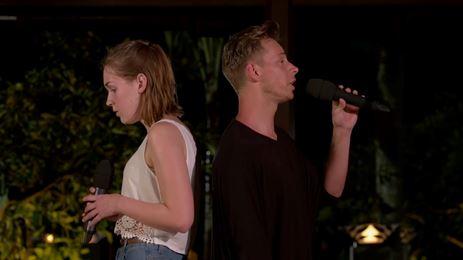 Videosnack: Idols Nina & Yoran zingen Say Something
