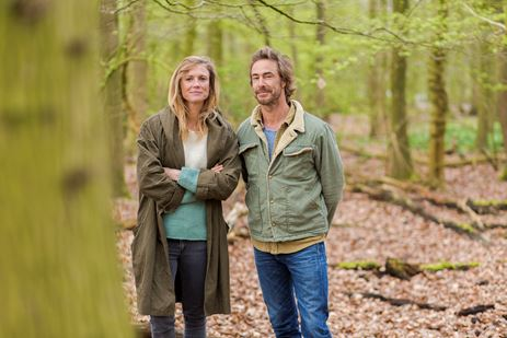 Sophie Hilbrand en Chris Zegers presenteren de Nationale Natuur Quiz