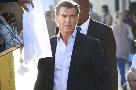 Pierce Brosnan in tv-serie The Son