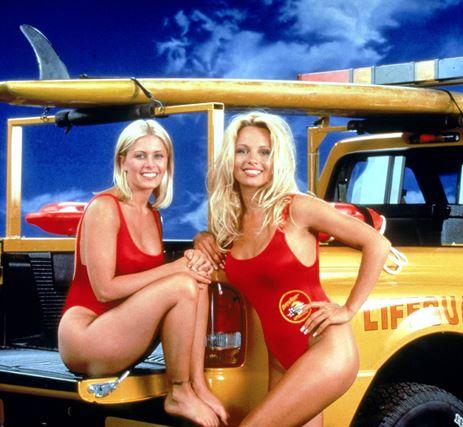 Pamela Anderson maakte Baywatch collega's onzeker