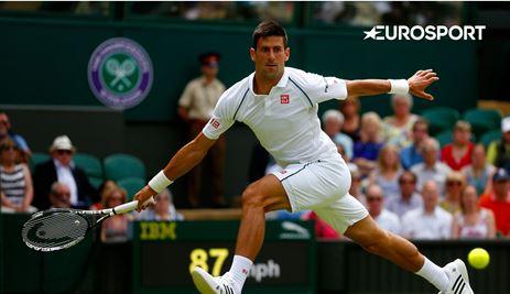 Wimbledon tot en met 2019 te zien bij Eurosport