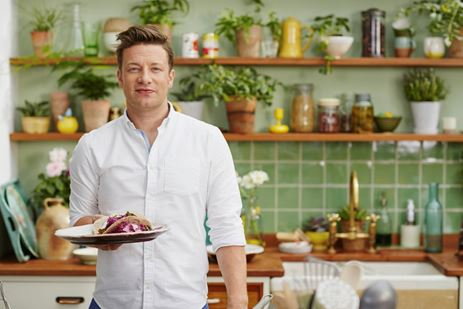 Jamie Oliver krijgt vijfde kind