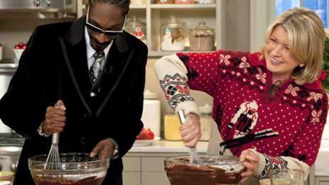 Snoop Dogg en Martha Stewart samen de keuken in
