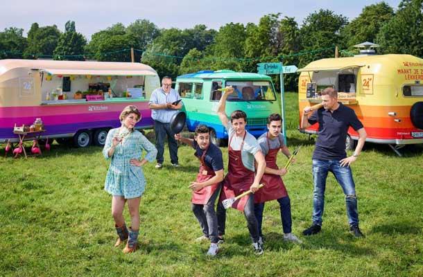 24Kitchen Food Truck Challenge: culinaire strijd op wielen