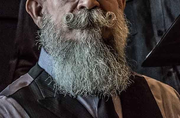 Eerste kampioenschap voor de beste baard