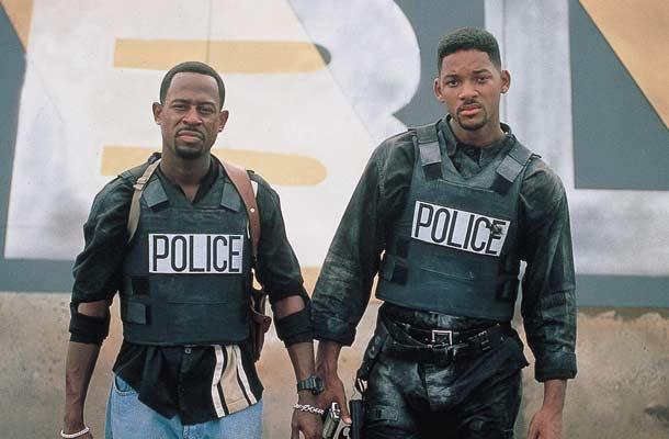 Will Smith en Martin Lawrence zijn Bad Boys