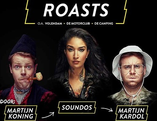 Comedy Central roast de hele zomer door