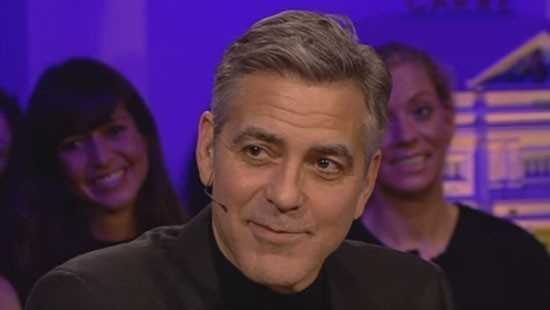 Humberto Tan verrast George Clooney