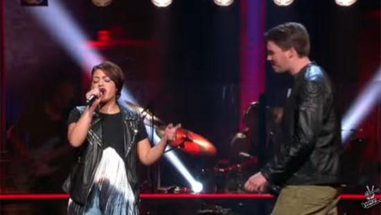 Dali en Job zingen Counting Stars tijdens The Battles