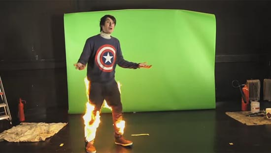 DAN IS ON FIRE