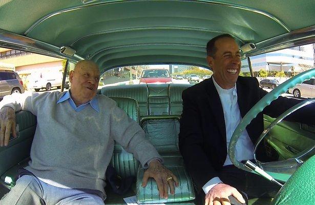 Seinfeld kondigt nieuw seizoen Comedians in Cars aan