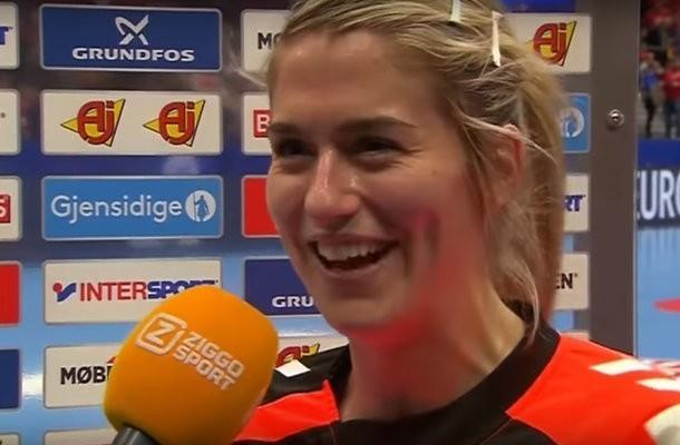 Handbalster Estavana Polman mist Jack van Gelder na bereiken EK-finale