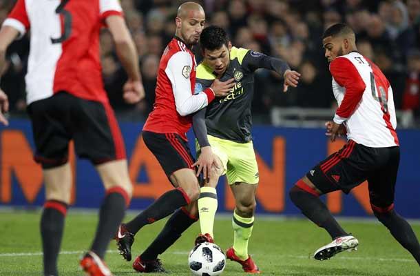 Eredivisie: Feyenoord ontvangt PSV
