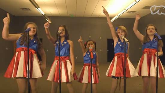 Donald Trump's 'USA Freedom Kids'