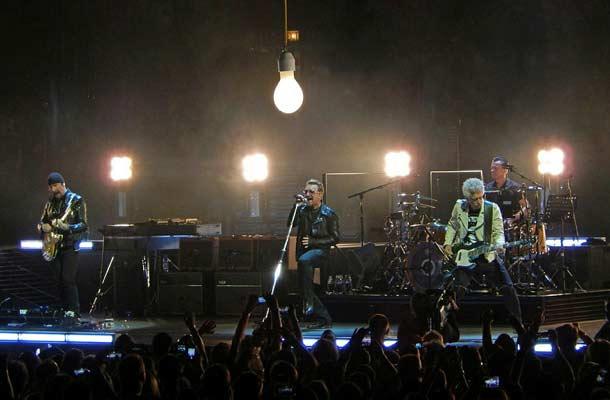 Avondje rocken met U2