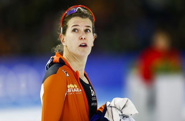 Eerste olympische schaatsdag