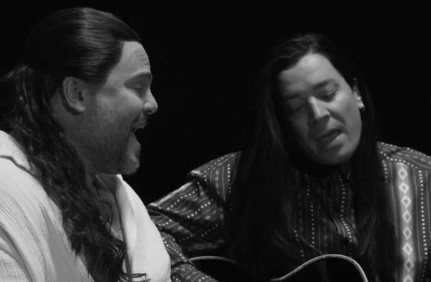 Jimmy Fallon en Jack Black coveren More Than Words