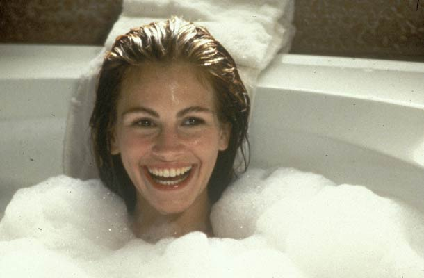 Julia Roberts als tippelaarster in Pretty Woman