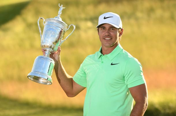 Brooks Koepka wint US Open