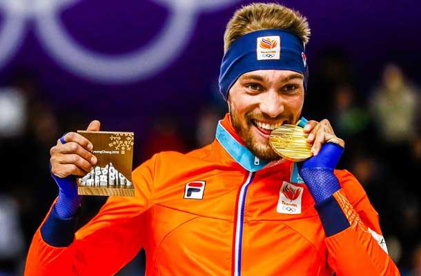 Kjeld Nuis koning van Winterspelen met goud op 1000 meter