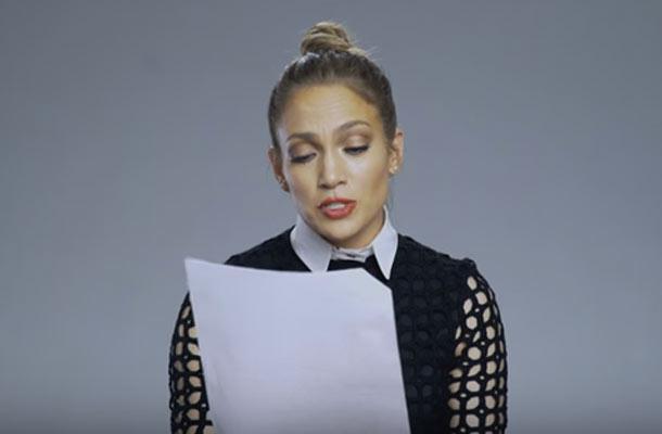 Jennifer Lopez leest 'Baby Got Back'