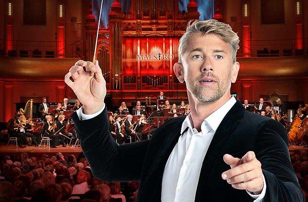 Waldemar Torenstra bakt er niets van in Maestro