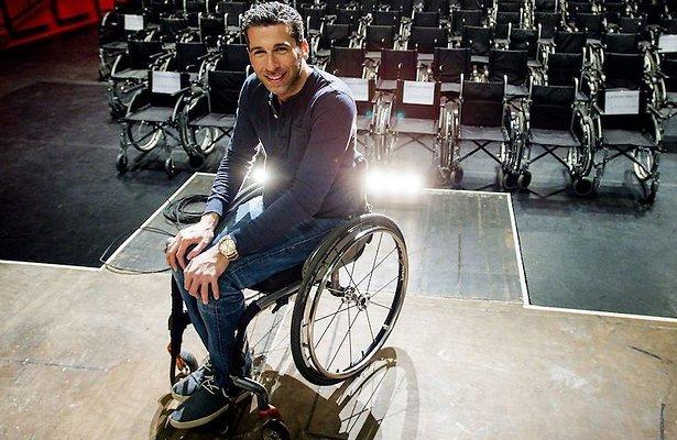 Marc de Hond wil talentenjacht voor mensen met een handicap