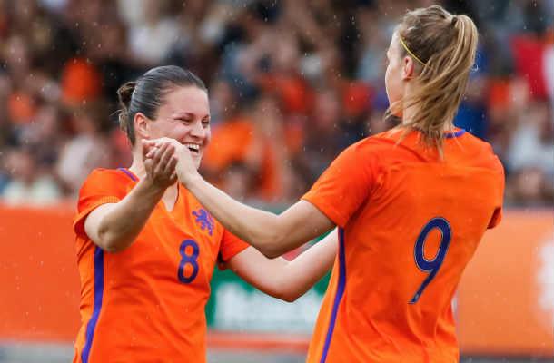 Tweede poulewedstrijd van Oranje