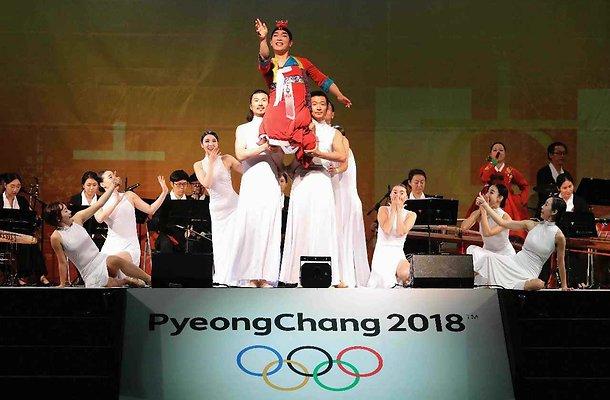 Openingsceremonie Olympische Winterspelen Pyeongchang