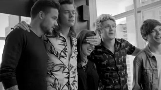 Achter de schermen bij Perfect van One Direction