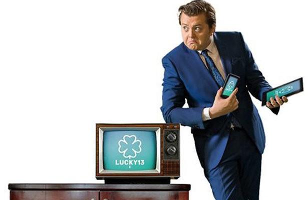 DJ Rob Janssen presentator SBS-quiz LUCKY13