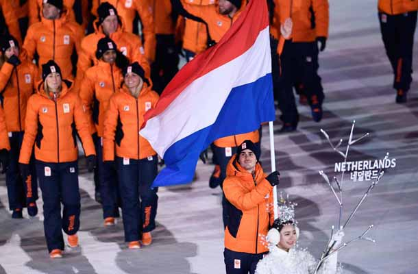 Jan Smeekens voert Nederland aan bij opening Olympische Spelen