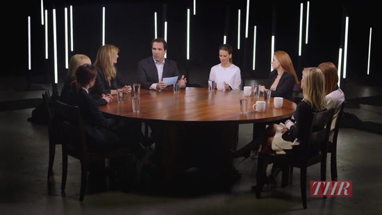 Rond de tafel met topactrices Julianne Moore, Reese Witherspoon, Amy Adams e.a.