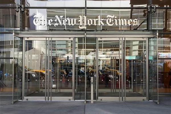 Bij The New York Times