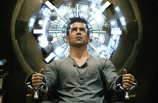 Total Recall is remake met Colin Farrell