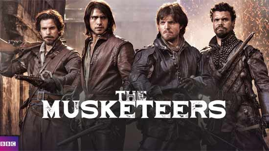 The Musketeers seizoen 3: 1 december