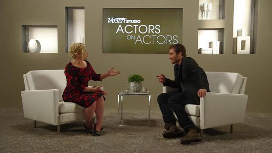 Patricia Arquette kletst met Jake Gyllenhaal