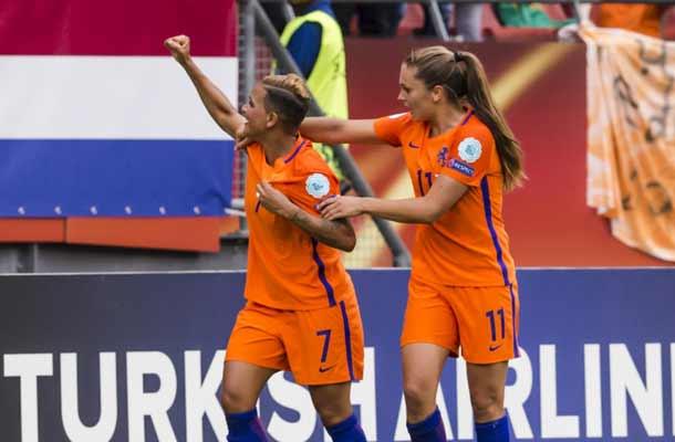 Nederlandse vrouwen beginnen EK met overwinning