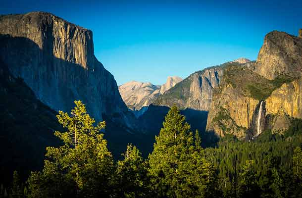 Bijzondere 'vuurwaterval' in Yosemite National Park