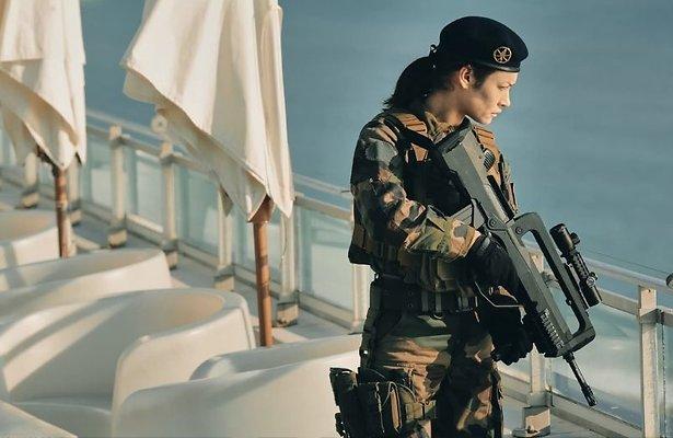 Sentinelle: Sexy soldaat zint op wraak bij Netflix